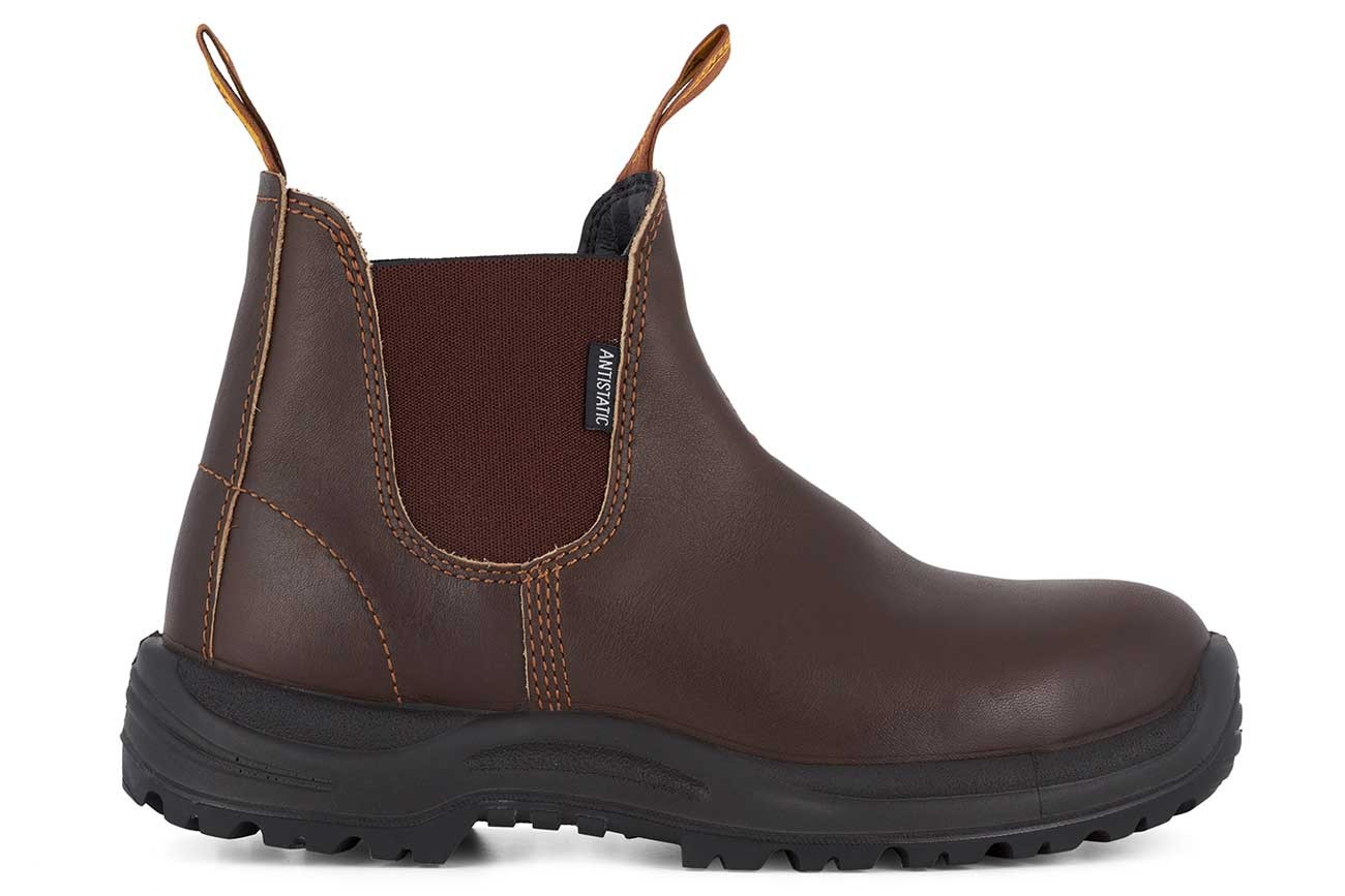 Blundstone 122 Brown Water Resistant Sicherheits