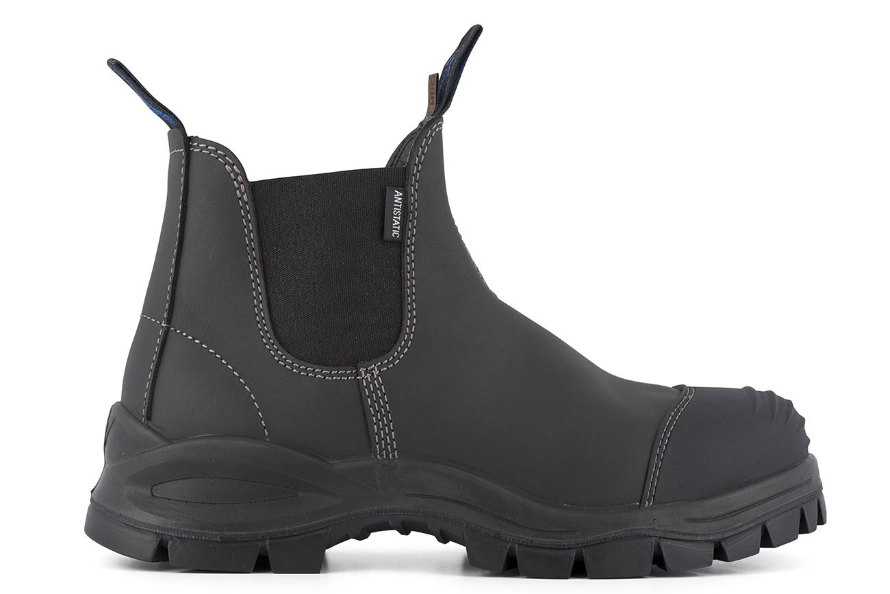 Blundstone 910 Black Platinum Sicherheits