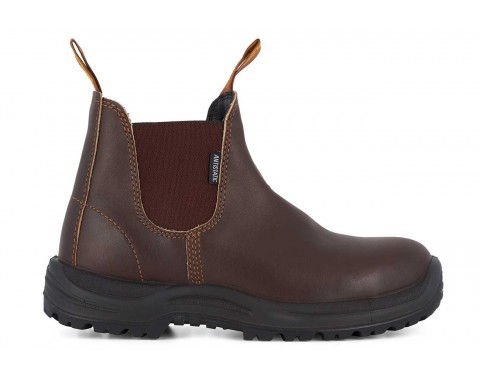 Blundstone #122 Brown Water Resistant Sicherheits